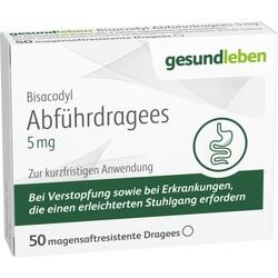 BISACODYL DRAGEES 5MG